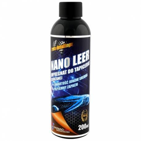 Preparat do pielęgnacji i zabezpieczania skóry naturalnej i sztucznej, Nano Leer