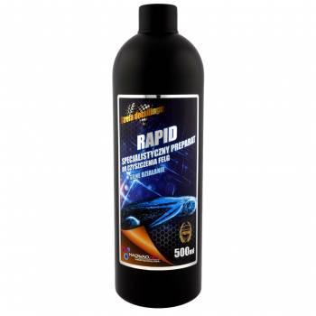 Skuteczny preparat do czyszczenia felg samochodowych - Rapid